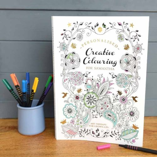 Creative Colouring Personalised - Softback